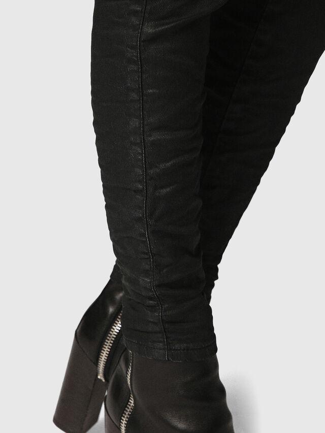 Diesel - Gracey JoggJeans 0688U, Black/Dark Grey - Jeans - Image 4