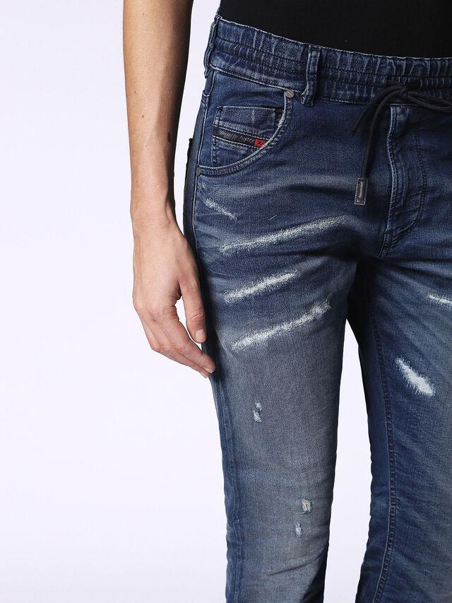 Diesel - Krailey JoggJeans 069CB, Dark Blue - Jeans - Image 7