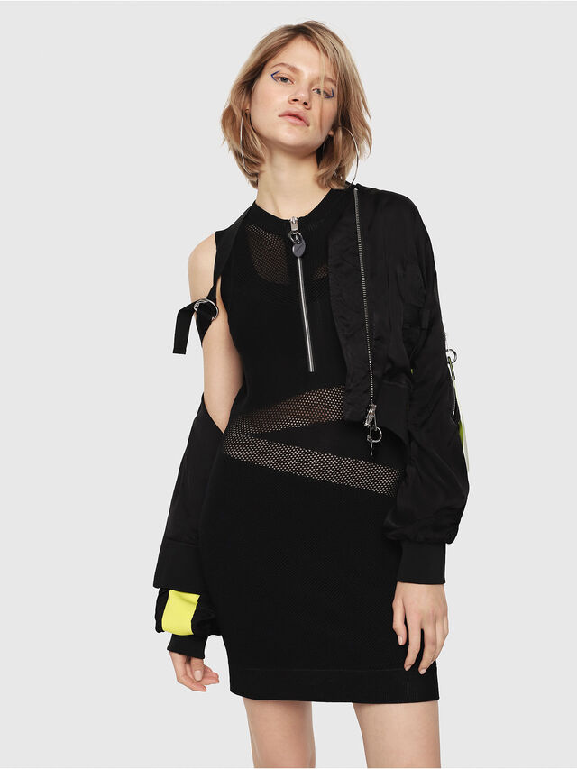 Diesel - M-FROUX, Black - Dresses - Image 3