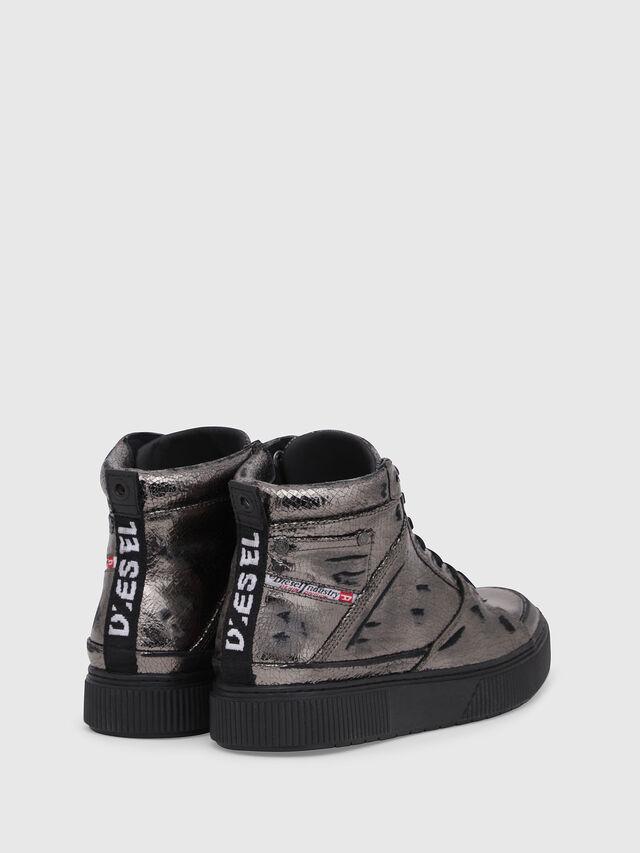 Diesel - S-DANNY MC II W, Silver/Black - Sneakers - Image 3