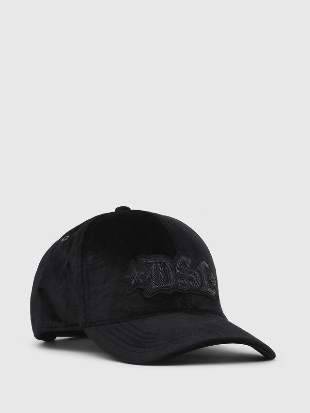 Diesel - C-BAROL, Black - Caps, Hats and Gloves - Image 1