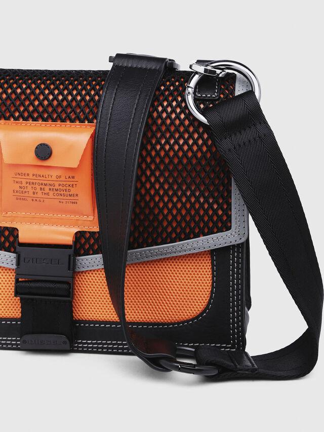 Diesel - MISS-MATCH CROSSBODY, Blue/Orange - Crossbody Bags - Image 4