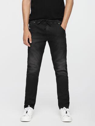 80f3fc49 Krooley JoggJeans 0670M, Black Jeans - Jeans