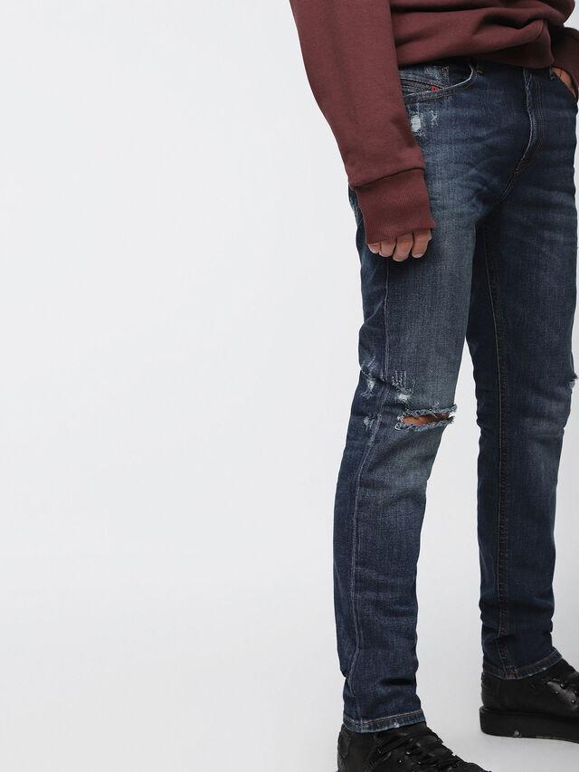 Diesel - Thommer C84ZB, Dark Blue - Jeans - Image 4