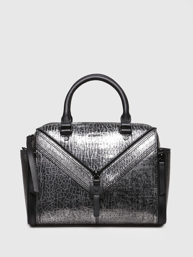 Diesel - LE-TRASY, Silver - Satchels and Handbags - Image 1