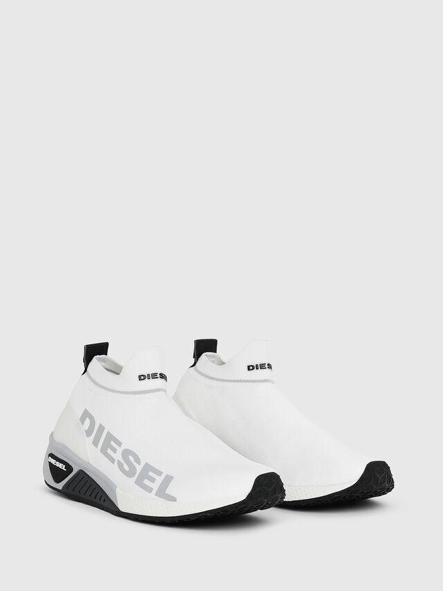 Diesel - S-KB ATHL SOCK II W, White - Sneakers - Image 2