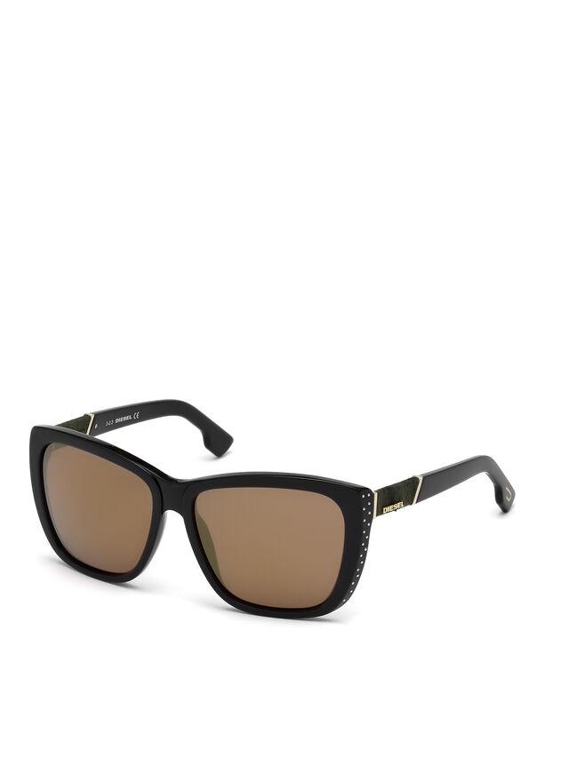Diesel DM0089, Black - Eyewear - Image 3