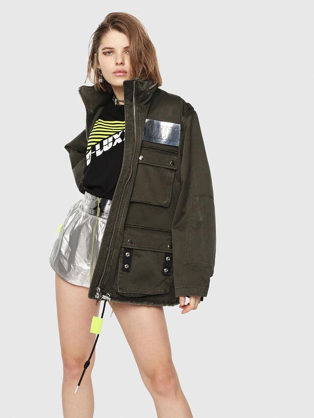 Diesel - G-LEE-B, Military Green - Jackets - Image 5