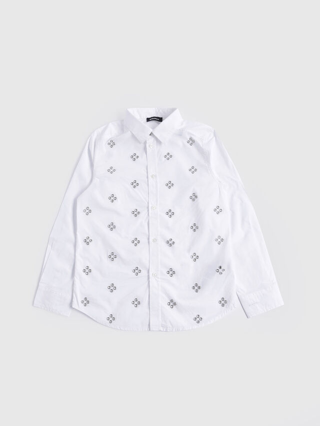 Diesel - CSQUAD, White - Shirts - Image 1