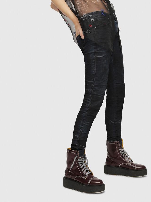 Diesel - Gracey JoggJeans 069CG, Dark Blue - Jeans - Image 3