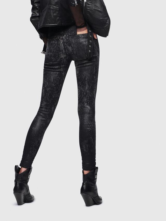 Diesel - Slandy 069DE, Black/Dark Grey - Jeans - Image 2