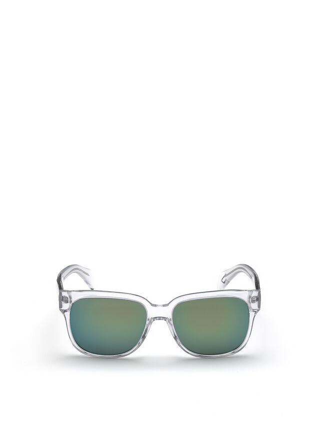 Diesel - DL0074, White - Sunglasses - Image 1
