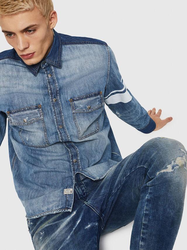 Diesel - D-MILLER, Blue Jeans - Denim Shirts - Image 4