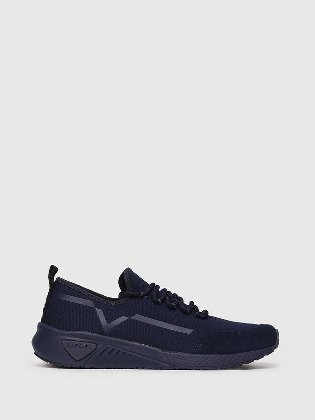 Diesel - S-KBY STRIPE W, Dark Blue - Sneakers - Image 1