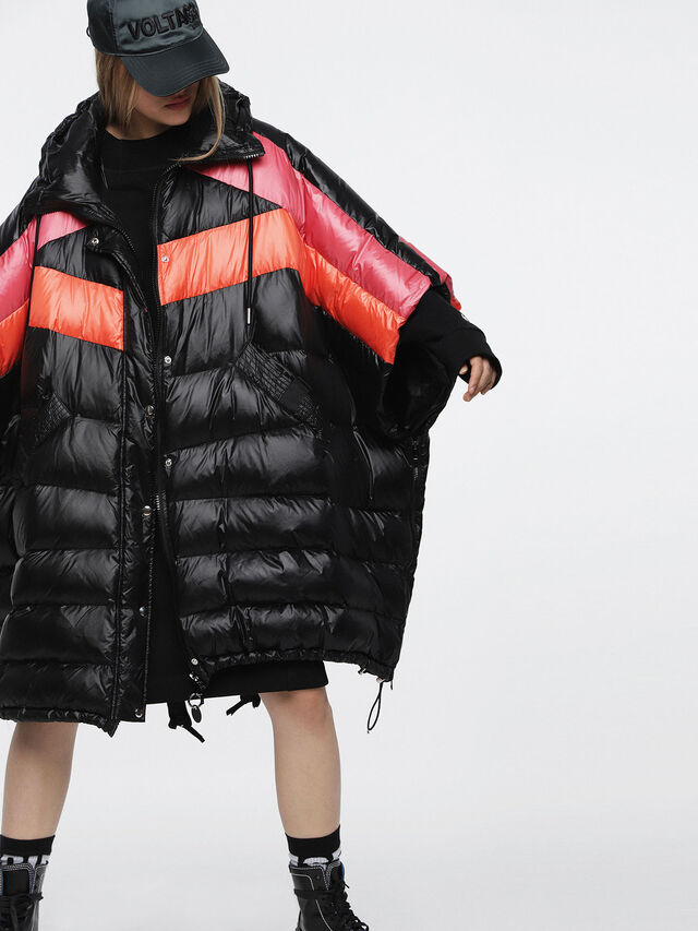 Diesel - W-MOSA, Multicolor/Black - Winter Jackets - Image 1