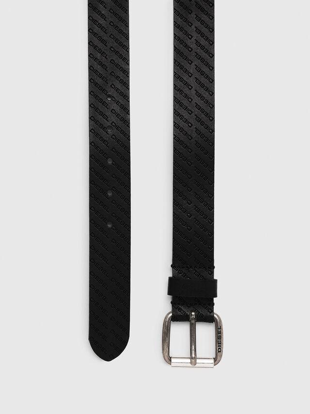 Diesel - B-SOLESINO, Black - Belts - Image 3