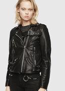 SE-LENE, Black Leather - Leather jackets