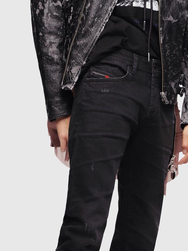 Diesel - Buster C69AC, Black/Dark Grey - Jeans - Image 3