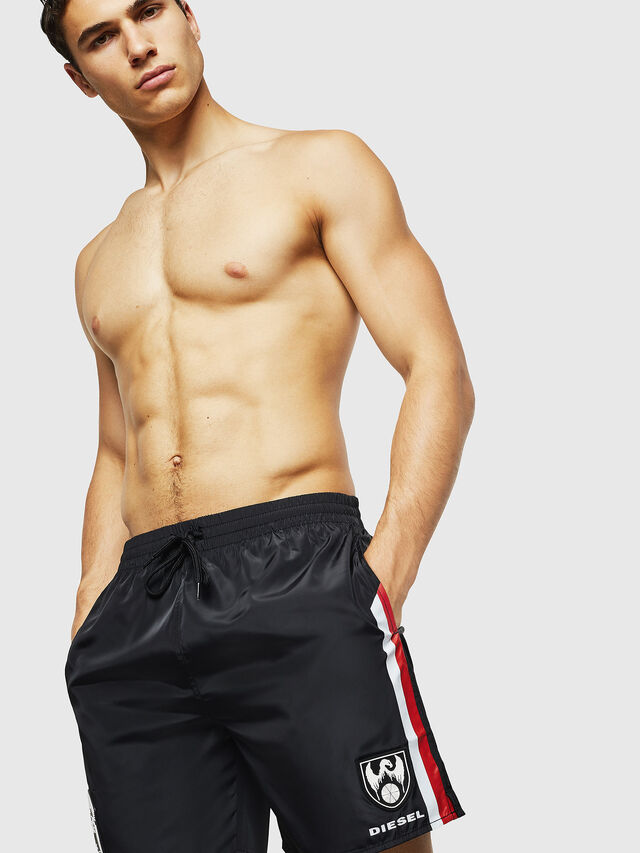 Diesel - BMBX-WAVENEW, Black - Swim shorts - Image 4