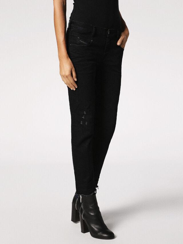Diesel - Belthy 084JS, Black/Dark Grey - Jeans - Image 6