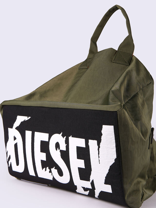 Diesel - XXMATCHDUFFLE, Green - Backpacks - Image 6