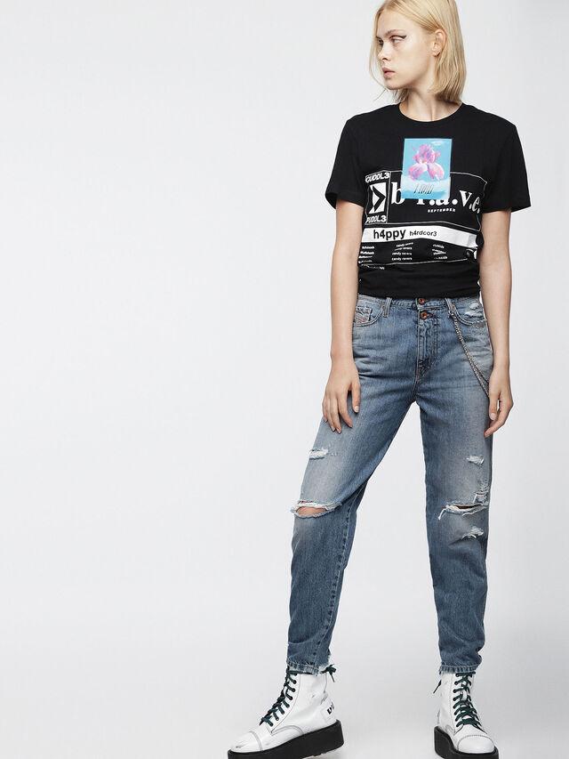 Diesel - T-GODIE, Black - T-Shirts - Image 1