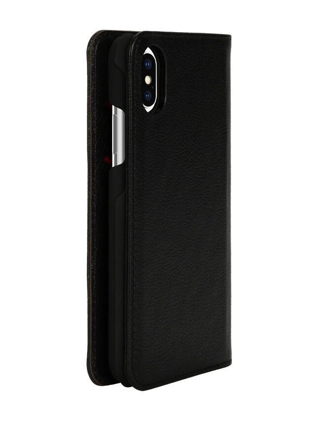 Diesel - DIESEL 2-IN-1 FOLIO CASE FOR IPHONE XS & IPHONE X, Black - Flip covers - Image 6