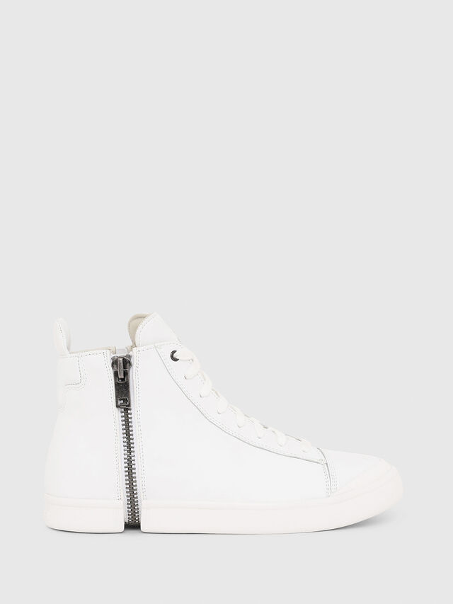 61143a1a78e S-NENTISH Men  Monochrome sneakers zip-round detail