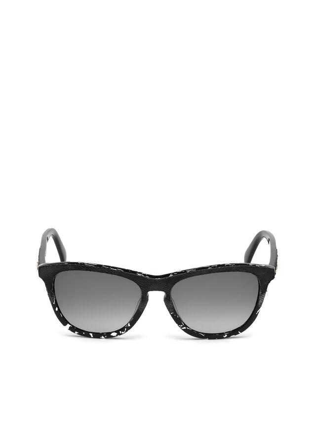 Diesel - DM0192, Black/White - Sunglasses - Image 1