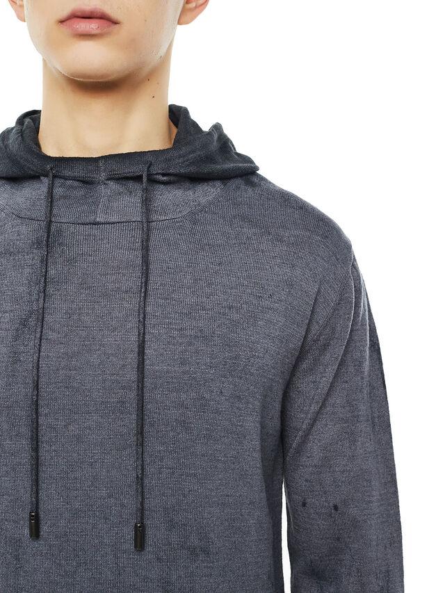 Diesel - KESULFY, Black/Grey - Sweaters - Image 3