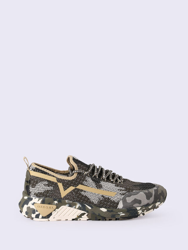 Diesel - S-KBY, Dark Melange - Sneakers - Image 1