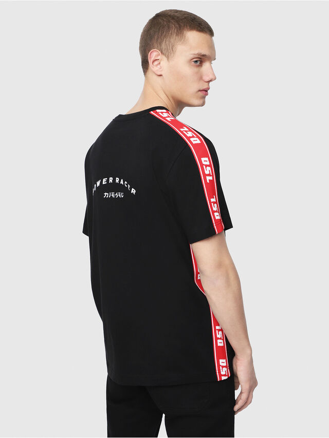 Diesel - T-JUST-RACE, Black/Red - T-Shirts - Image 2