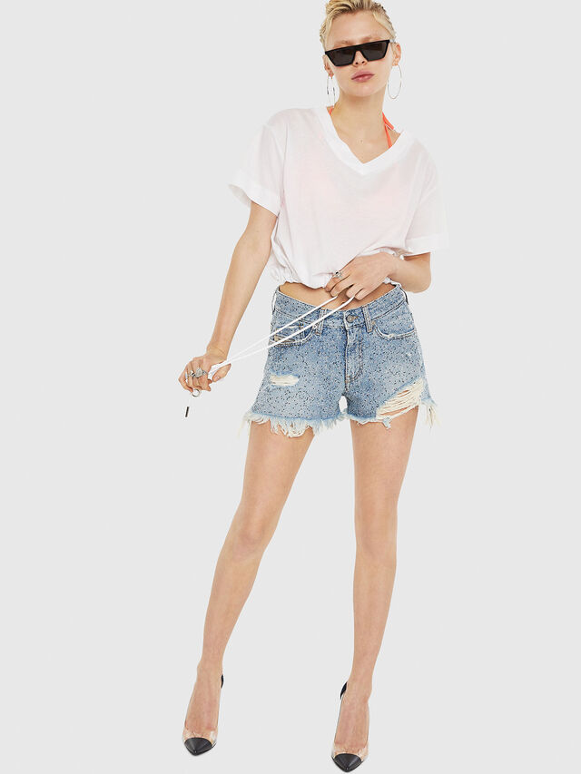 Diesel - T-ELISY-A, White - T-Shirts - Image 5