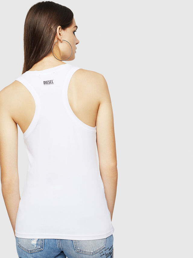 Diesel - T-STA-A, White - Tops - Image 2
