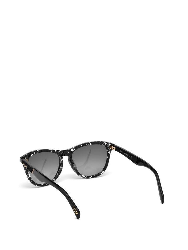 Diesel - DM0192, Black/White - Sunglasses - Image 2
