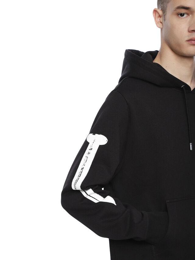 Diesel - SNEILBOOD-NAILS, Black - Sweatshirts - Image 5
