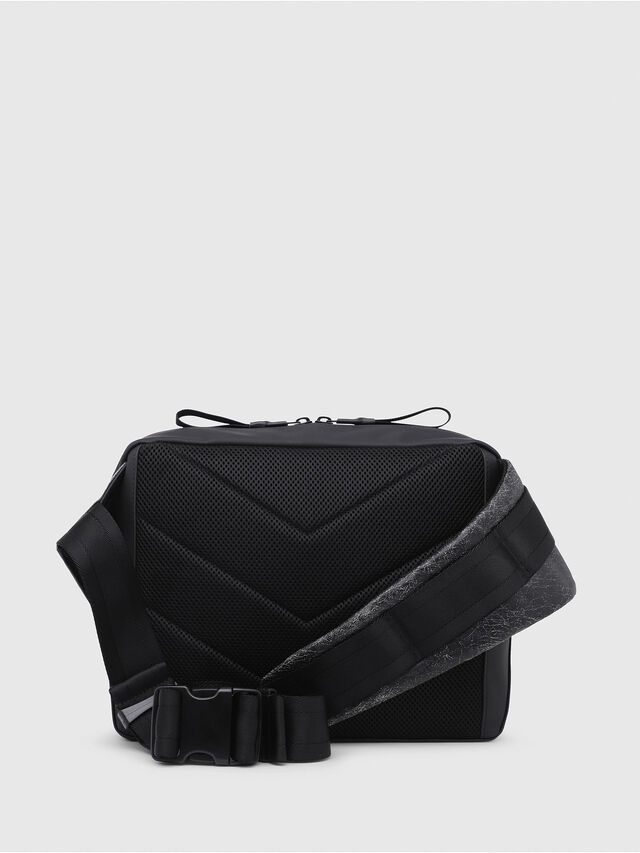 Diesel - VOLPAGO CROSSPLUS, Black - Crossbody Bags - Image 2