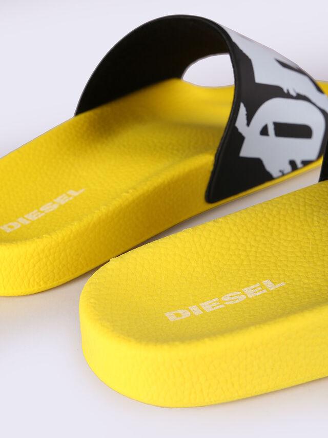 Diesel - SA-MARAL, Yellow - Slippers - Image 3
