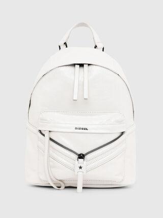 LE-ZIPPER BACKPACK, White - Backpacks