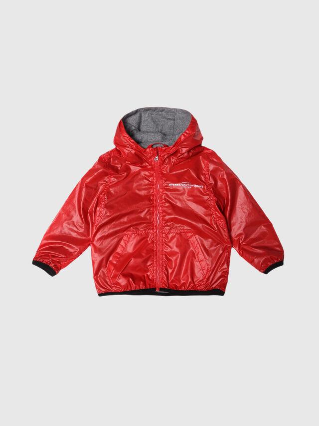 Diesel - JEFFOXB, Red/Grey - Jackets - Image 1