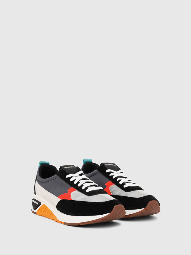 Diesel - S-KB LOW LACE II, Multicolor/Black - Sneakers - Image 2