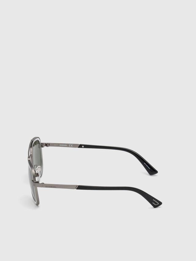 Diesel - DL0266, Black/Grey - Sunglasses - Image 3