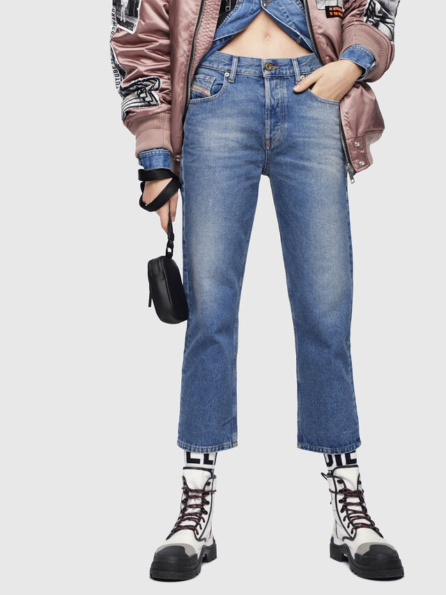 Diesel - Aryel 0076X, Medium Blue - Jeans - Image 1
