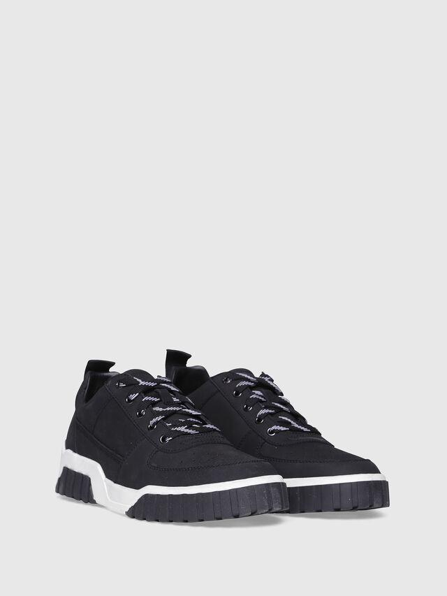 Diesel - S-RUA LC, Black - Sneakers - Image 2