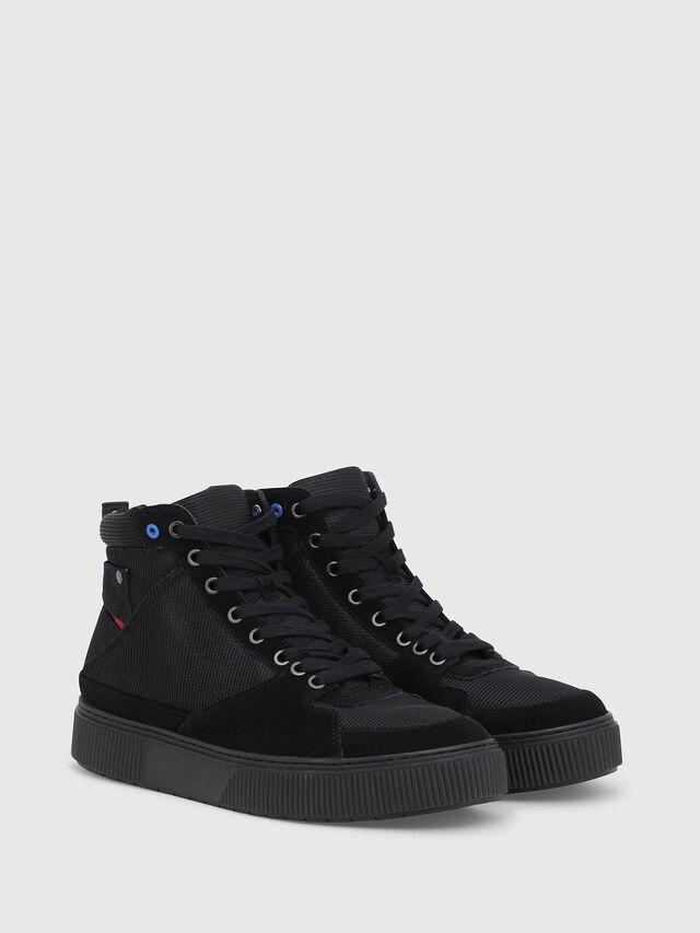 Diesel - S-DANNY MC II, Black - Sneakers - Image 2