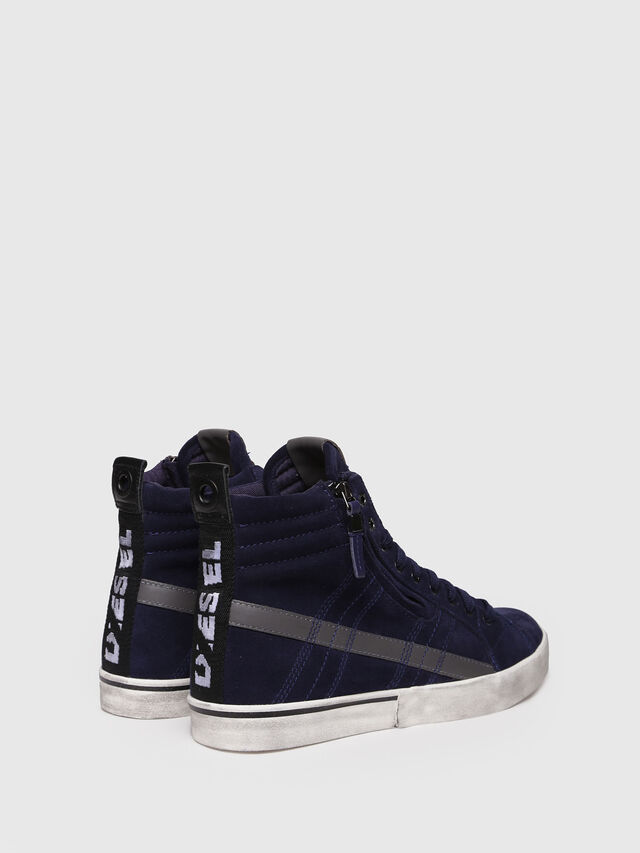 Diesel - D-VELOWS MID LACE, Dark Blue - Sneakers - Image 2