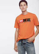T-JUST-DIVISION, Orange - T-Shirts