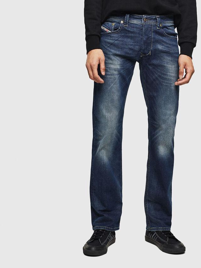 6742ce02 LARKEE 0853R Men: Straight Dark blue Jeans | Diesel