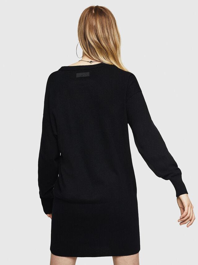Diesel - M-MERS, Black - Sweaters - Image 2