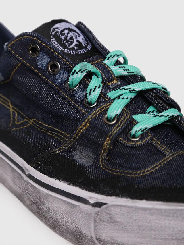Diesel - S-FLIP LOW, Dark Blue - Sneakers - Image 4